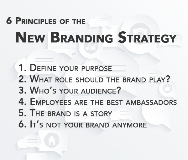 6 principles of the new branding strategy